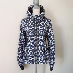 RARE Lululemon Ikat Downtime Jacket Sprinkler Blue